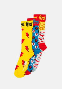 Happy Socks - BOWIE GIFT UNISEX SET 3 PACK  - Chaussettes - multi - 0