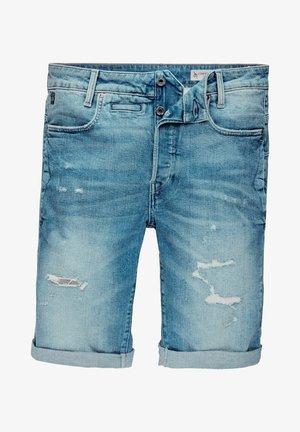 D-STAQ - Shorts di jeans - faded seascape restored