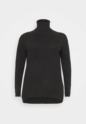 VMPLAZA ROLLNECK - Jumper - black