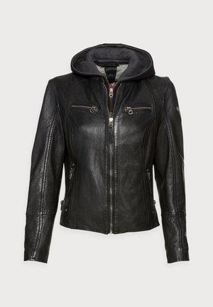 NOHLA - Leather jacket - black