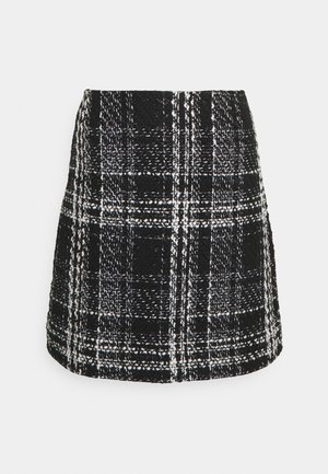 SOFIA SKIRT - A-line skirt - black/white