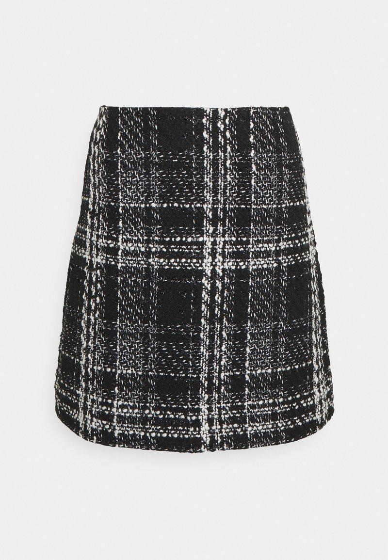 Forever New - SOFIA SKIRT - A-line skirt - black/white