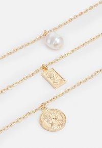 Urban Classics - LAYERING BASIC NECKLACE UNISEX - Necklace - gold-coloured - 2