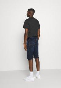 Tommy Jeans - REY RELAXED - Denim shorts - dark-blue denim - 2