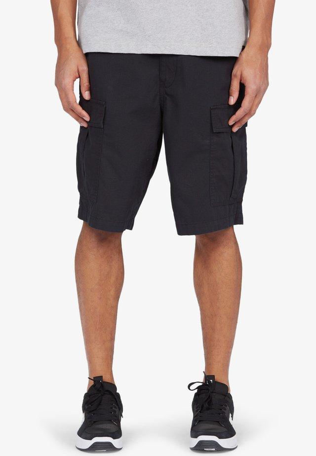 WORKER - Shorts - black