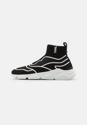 VERGE GUARDO MID - Sneakers hoog - black
