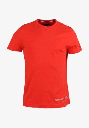 Basic T-shirt - orange - rot