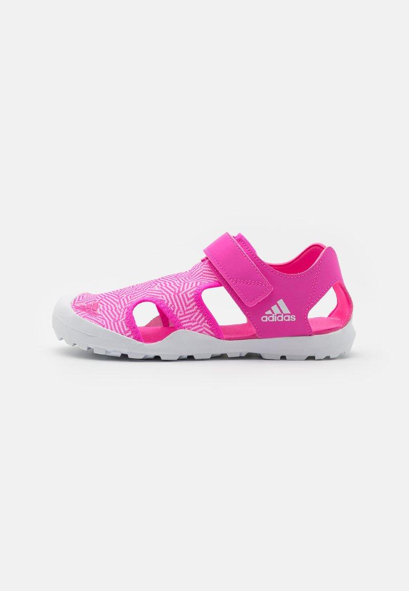 adidas Performance - CAPTAIN TOEY UNISEX - Walking sandals - screaming pink/footwear white