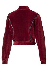 Puma - Zip-up hoodie - pomegranate - 4