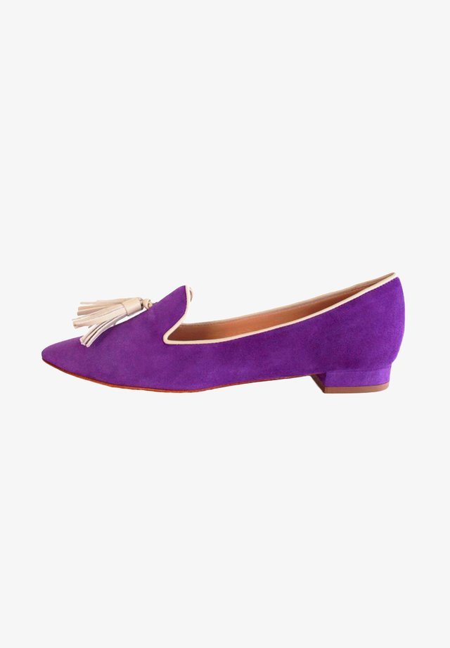 GIORGIA - Instappers - royal purple/ avana