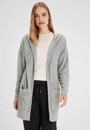 LONGLINE COSY  - Cardigan - grey