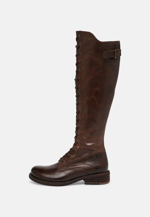 HARDY - Nauhalliset saappaat - uraco brown