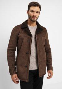 INDICODE JEANS - CROCKFORD - Light jacket - demitasse - 0