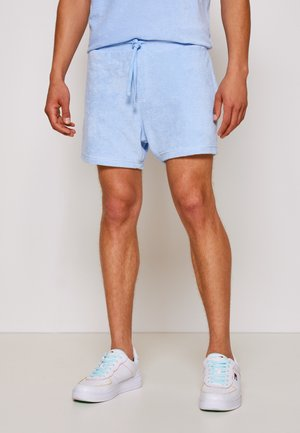 TOWELING  - Shorts - light powdery blue