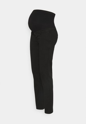 TONIO SEAMLESS - Kangashousut - black