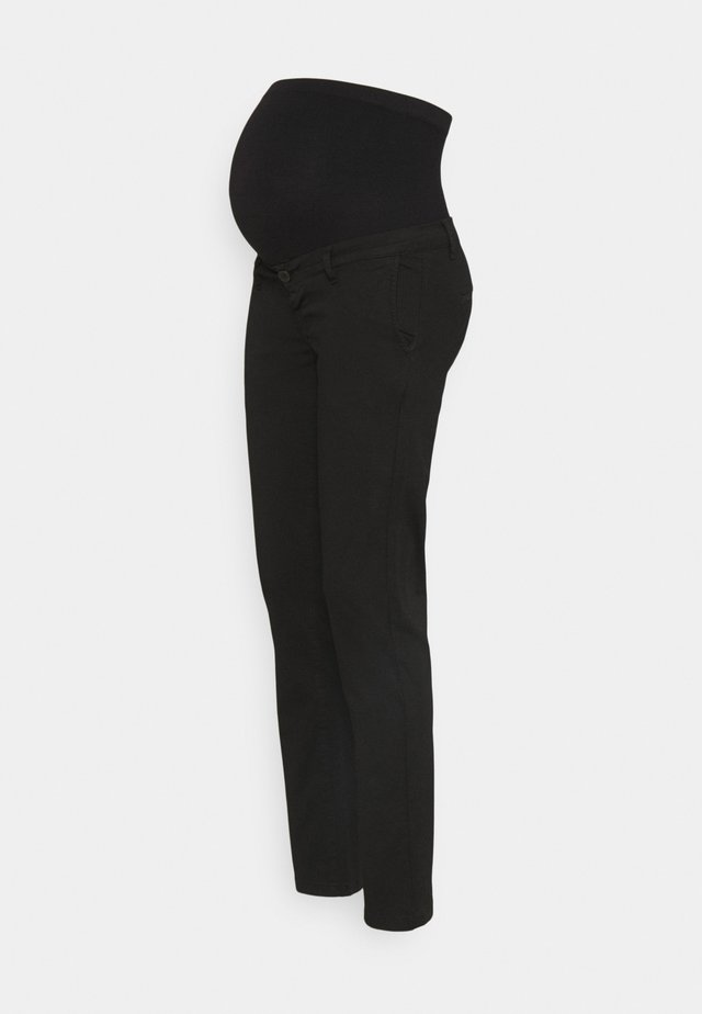 TONIO SEAMLESS - Pantaloni - black
