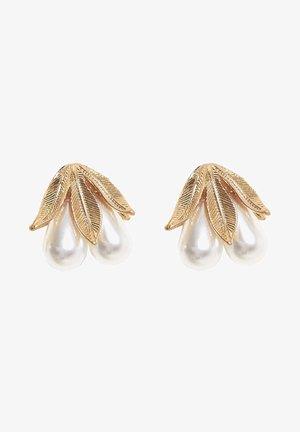 MIT BLUME  - Earrings - gold