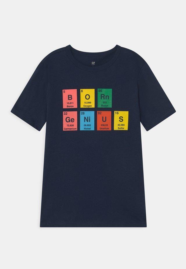 VALUE GRAPHICS - T-shirt med print - elysian blue