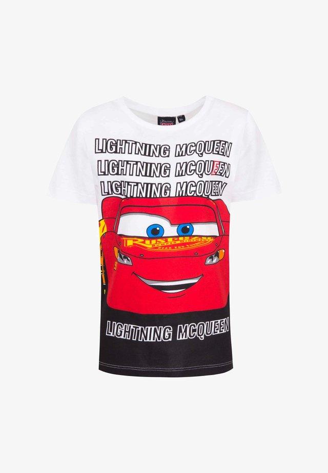 DISNEY CARS - Print T-shirt - weiß