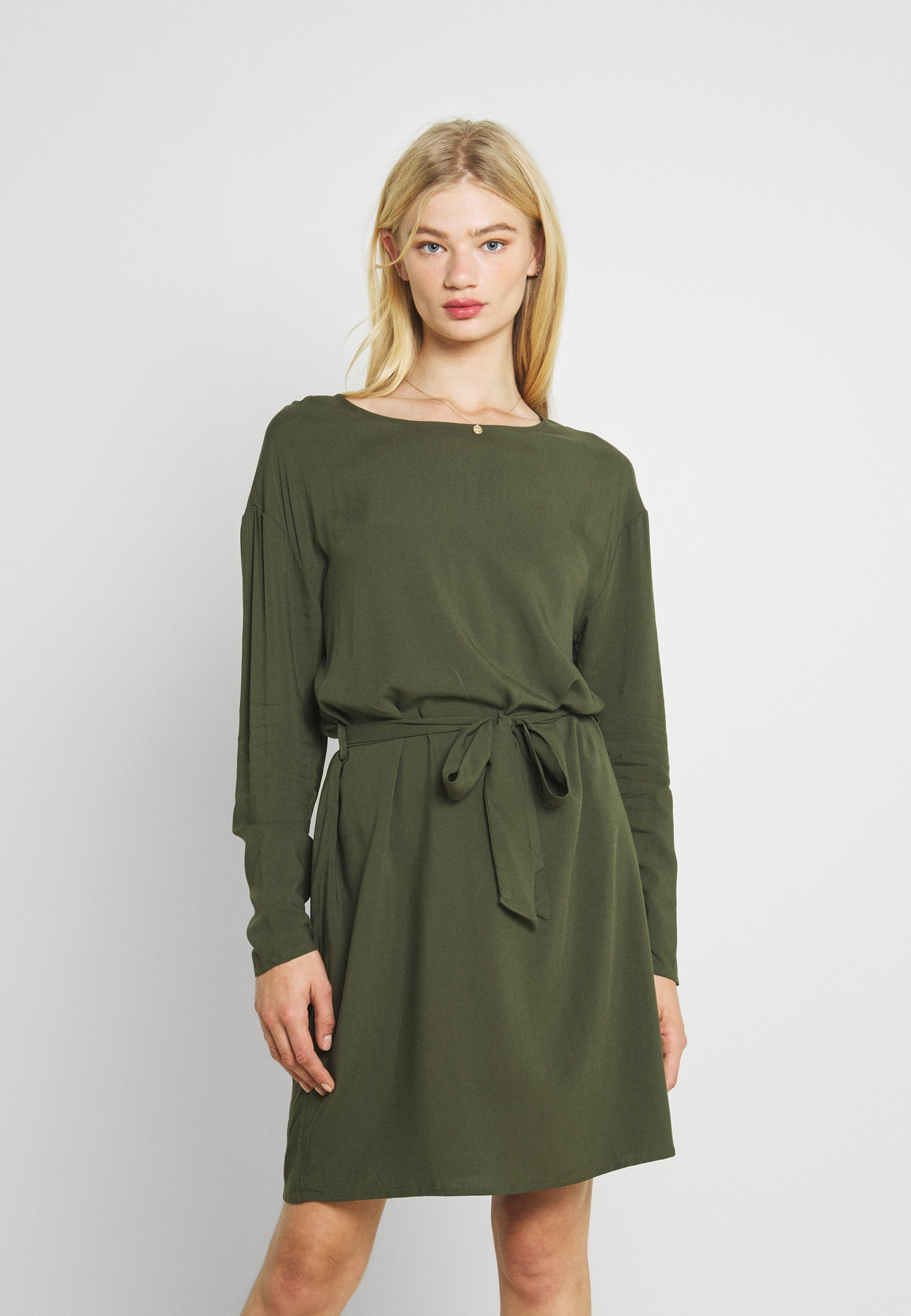 Women VISAY TIE BELT DRESS - Day dress