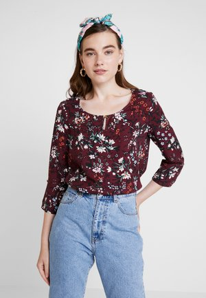 VMAUTUMN AMAZE 3/4 FOLD UP - Blouse - port royale/alva