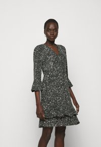 MICHAEL Michael Kors - RUFFLE MINI  - Cocktail dress / Party dress - silver-coloured - 0