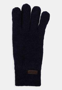 Barbour - CARLTON GLOVES - Gloves - navy - 1