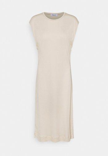 AURORA DRESS - Žerzejové šaty - soft beige