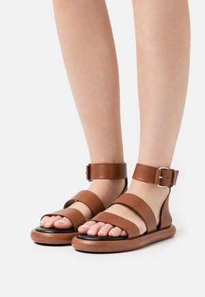PIPE - Sandals - brown