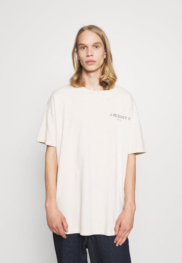 PAULUS - T-shirt med print - offwhite