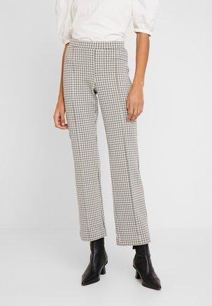 PONTAS - Trousers - beige