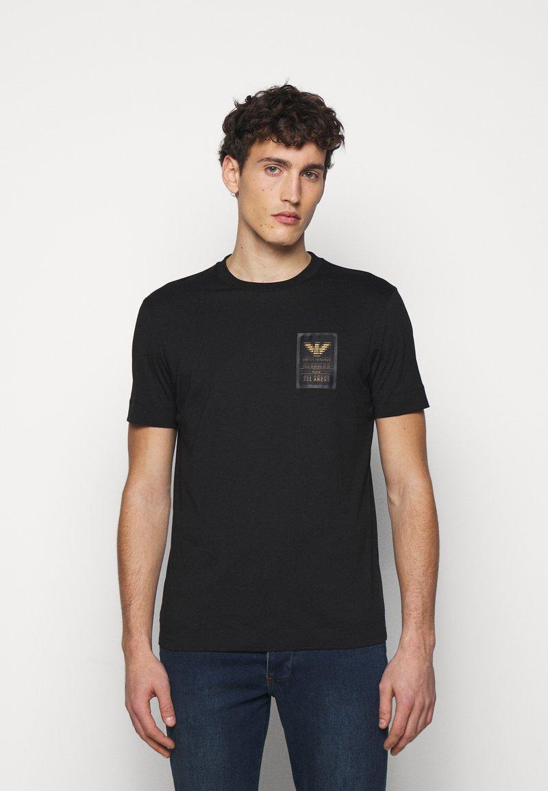 Emporio Armani - T-shirts print - black