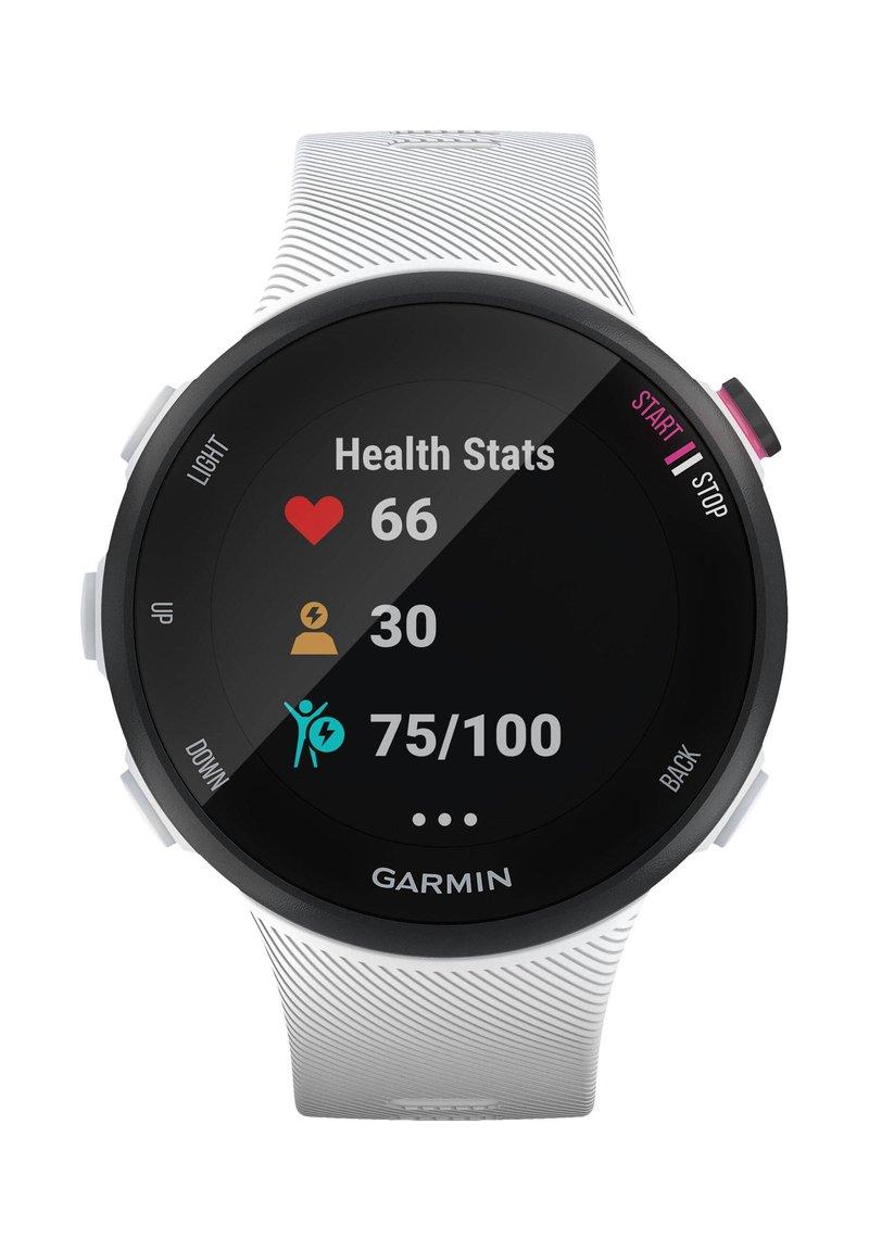 """Garmin - GARMIN GPS-LAUFUHR """"FORERUNNER 45 S"""" WEISSES ARMBAND - Smartwatch - white"""
