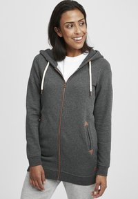 Oxmo - VICKY  - Zip-up hoodie - dar grey m - 0