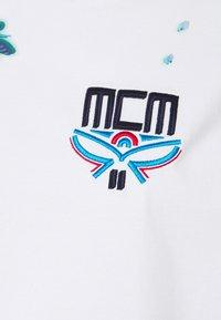 MCM - SHORT SLEEVES TEE - Print T-shirt - white - 5