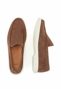 BOSS - Slip-ons - dark brown - 2