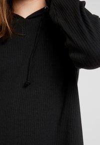Missguided - HOODIE DRESS - Jersey dress - black - 5