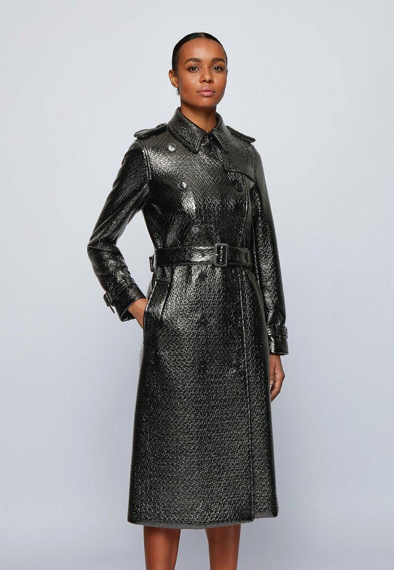 BOSS - COMELINA - Trenchcoat - black