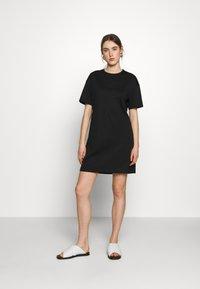 Filippa K - MADDIE DRESS - Žerzejové šaty - black - 1
