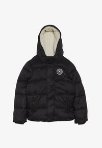 Abercrombie & Fitch - ESSENTIAL PUFFER  - Down jacket - black - 3
