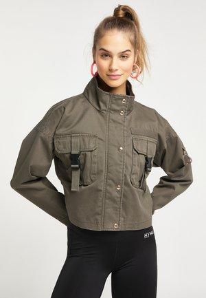 Summer jacket - military olive