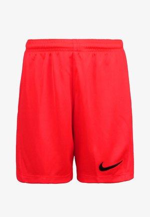 Sports shorts - bright crimson / black