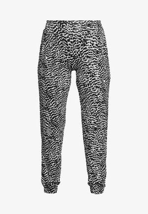 BEACHPANTS - Pyžamový spodní díl - schwarz/sand