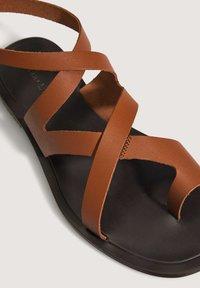OYSHO - Sandals - brown - 5