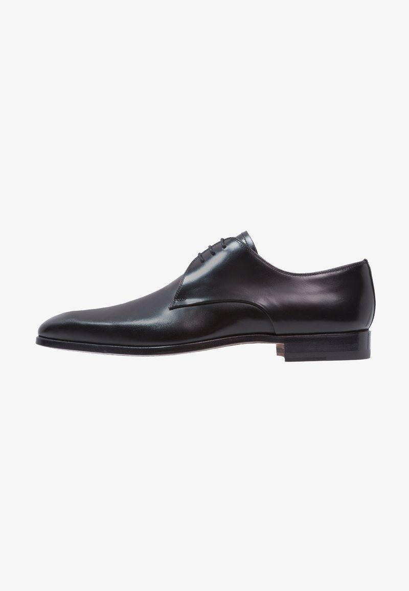 Magnanni - Elegantní šněrovací boty - black