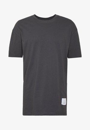 JCOALEX TEE CREW NECK - Camiseta básica - asphalt