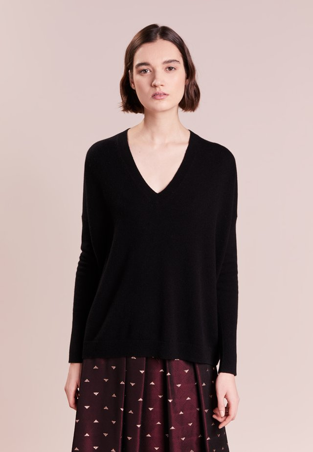 ROSAYLN CASHMERE SWEATER - Jumper - black