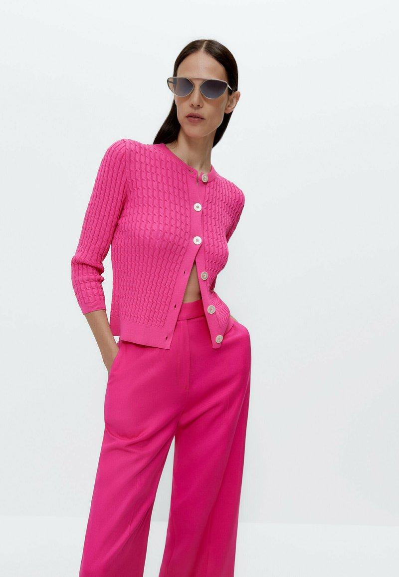 Uterqüe - Cardigan - pink