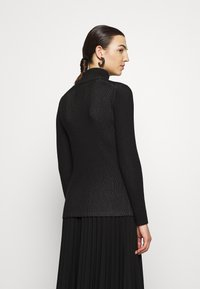 Calvin Klein Jeans - Svetr - black/bright white - 2