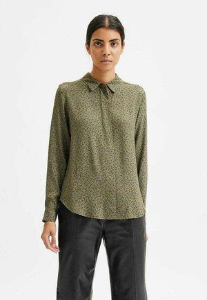 MIT - Button-down blouse - kalamata